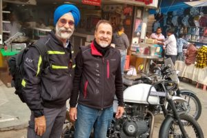 Mr. Jan Daniel's motorcycle test rid around Lutyens Delhi 3